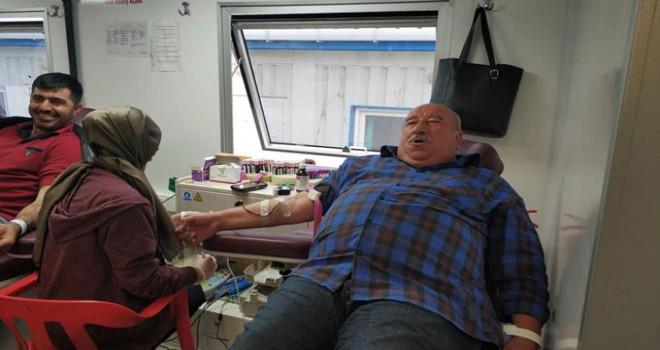 40 yılda 149 kez kan bağışı yaptı