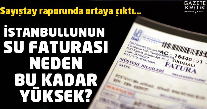 İstanbul'un su faturası böyle kabardı: Aynı hizmet için farklı adlarda tahsilat yapılıyor