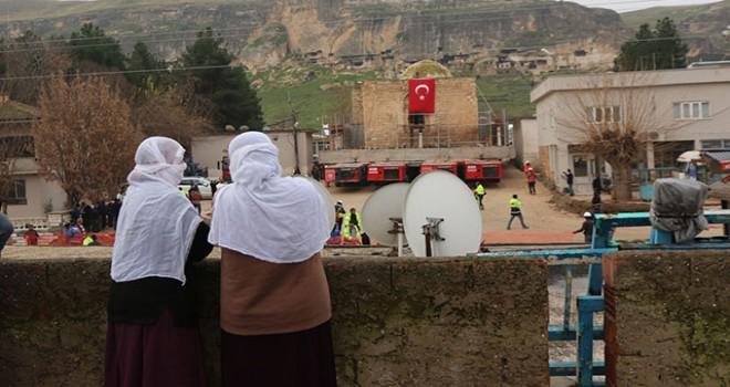 Hasankeyf'teki son eser taşınmaya başlandı