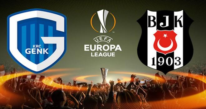 Genk - Beşiktaş maçının ilk 11'leri belli oldu