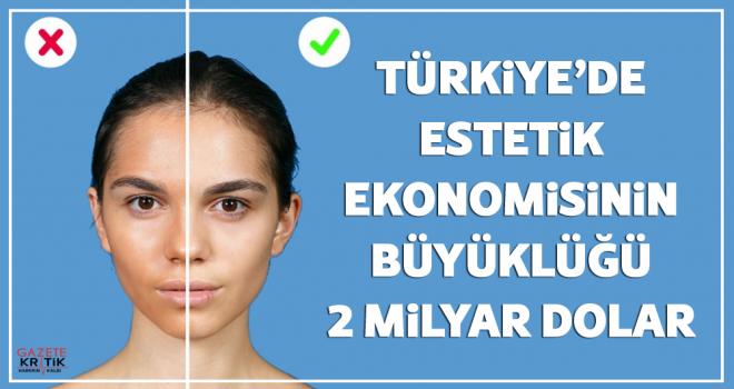 Türkiye'de estetik ekonomisinin büyüklüğü 2 milyar dolar