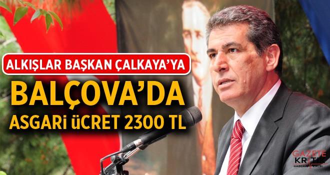Balçova'da asgari ücret 2300 TL