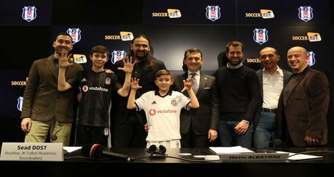 Beşiktaş ile SoccerLAB arasında iş birliği