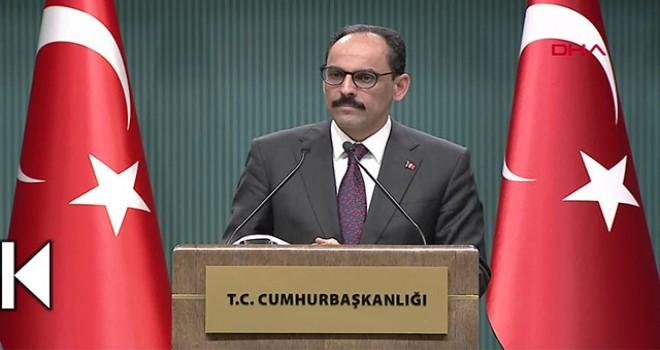 Cumhurbaşkanlığı Sözcüsü İbrahim Kalın: Trump Türkiye'ye gelecek
