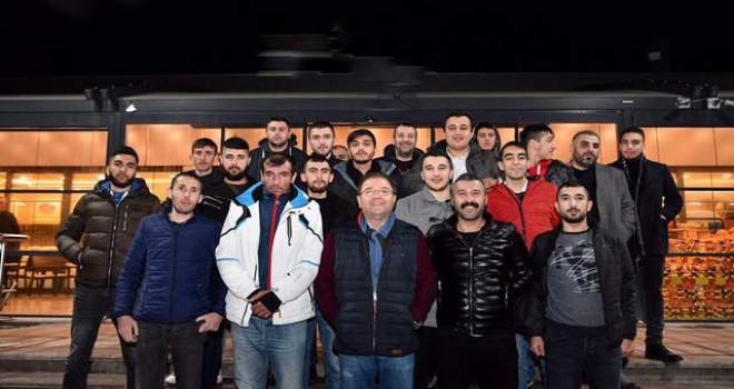 Maltepeliler Başkan Ali Kılıç'la Ankara'ya çıkarma yaptı