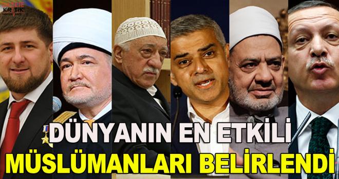 Dünyanın en etkili Müslümanları belirlendi