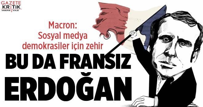 Macron: Sosyal medya demokrasiler için zehir