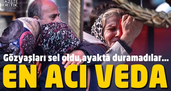 Şehit Melih Sancar'ın cenazesi helallik için evine getirildi