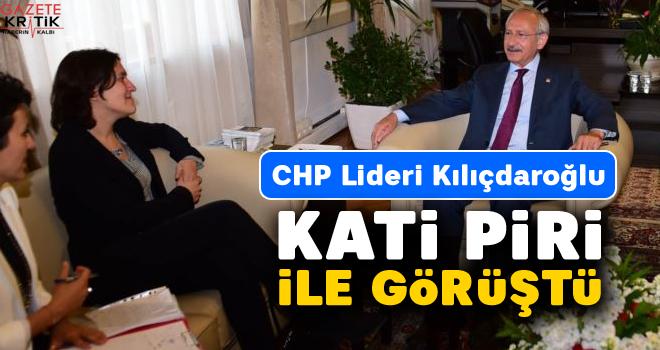 Kılıçdaroğlu, Kati Piri ile görüştü