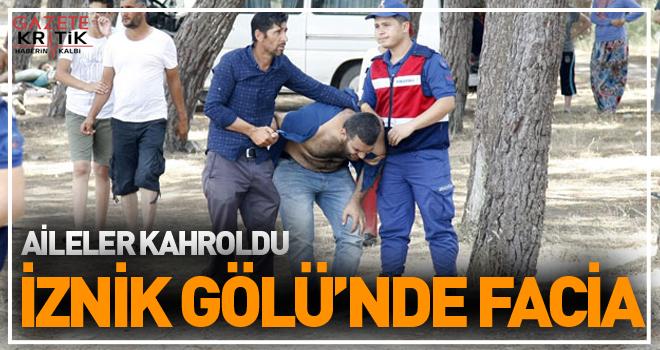 İznik Gölü'ne giren 8 çocuktan 6'sı kurtarıldı, 2'si boğuldu