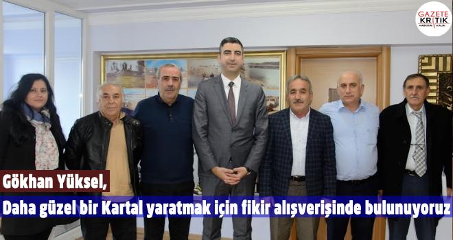 Kartal Belediye Başkan Aday Adayı Gökhan Yüksel'den Oto Sanayi Sitesine ziyaret