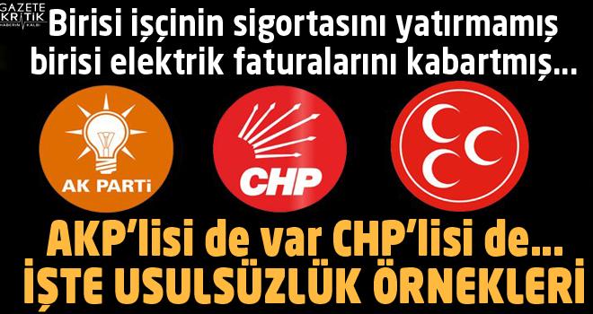 Sayıştay raporunda çarpıcı detaylar: AKP'lisi de var CHP'lisi de…