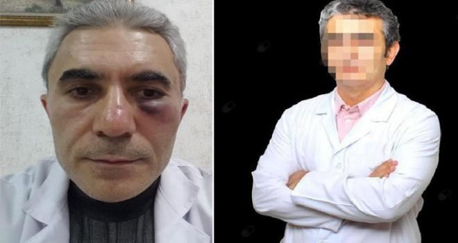 Meslektaşını döven doktor görevden alındı