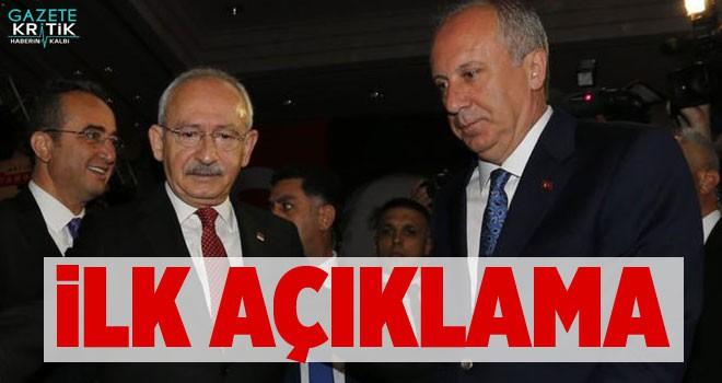 Kılıçdaroğlu ile İnce Görüşmesinden İlk Açıklama!