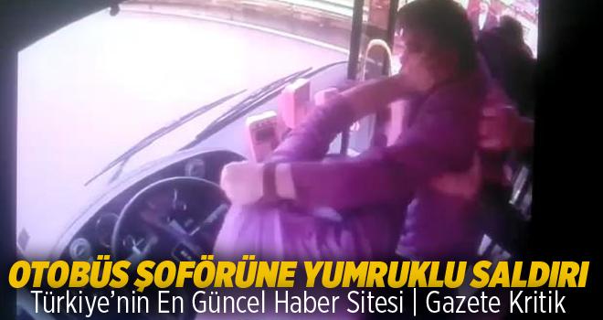Trabzon'da otobüs şoförüne yumruklu saldırı