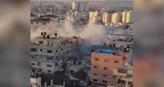 İsrail, Filistin'de bir evi bombaladı