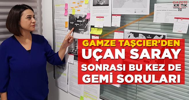 GAMZE TAŞCIER'DEN UÇAN SARAY SONRASI BU KEZ DE GEMİ...
