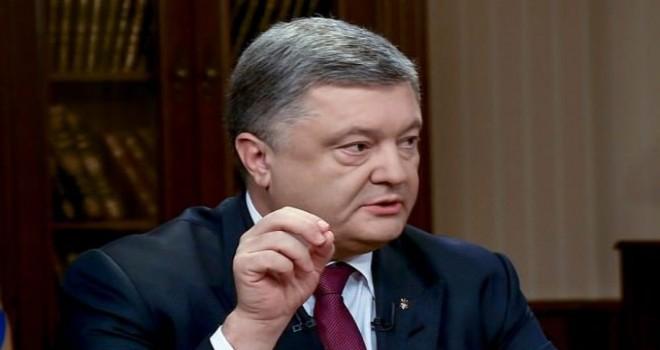Poroşenko askeri kabineyi topladı, NATO ve AB'yi...