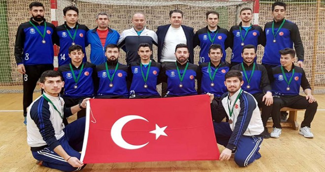 Gaziantep Polisgücü, Avrupa üçüncüsü oldu