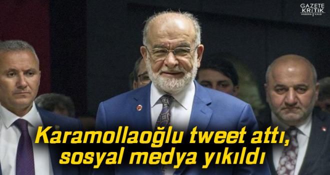 Karamollaoğlu tweet attı, sosyal medya yıkıldı