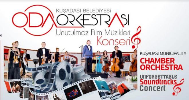 UNUTULMAZ FİLM MÜZİKLERİ KONSERİ 15 EYLÜL'DE...