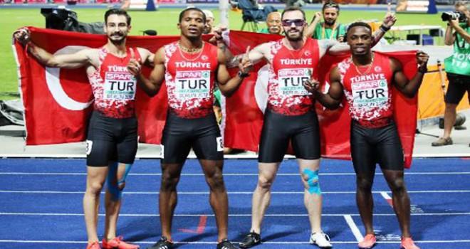 Atletizmde uluslararası turnuvalar ve şampiyonalarda...