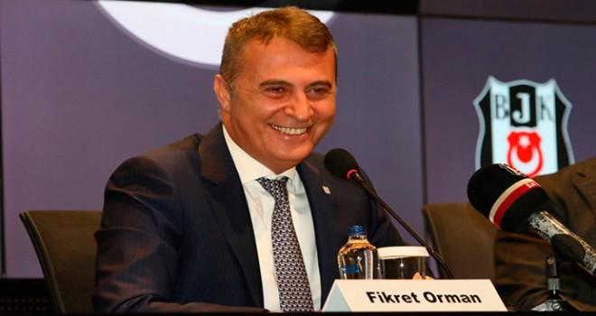 Beşiktaş'ta 4'üncü Fikret Orman dönemi