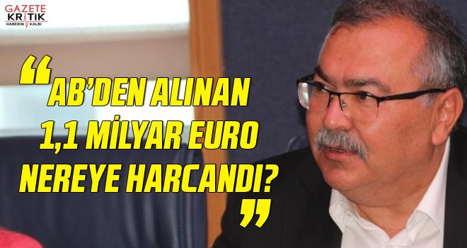 CHP'Lİ SÜLEYMAN BÜLBÜL:AB'DEN ALINAN 1,1 MİLYAR...