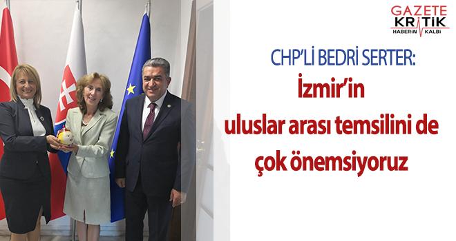 İzmir Milletvekili Bedri Serter:İzmir'in uluslar...