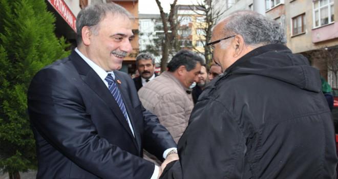 Alevi vatandaşlardan BTP Başkan adayı Kotil'e destek
