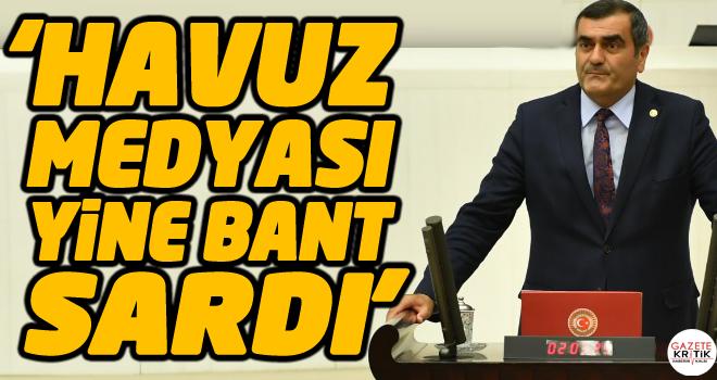 CHP'li Ali Şeker:'Havuz Medyası Yine BANT Sardı'