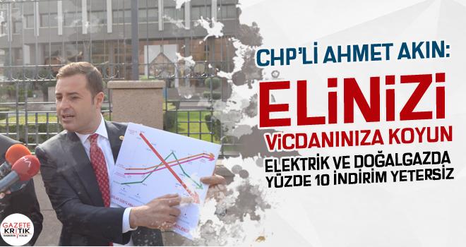 CHP'Lİ AHMET AKIN: ASGARİ ÜCRET SEFALET ÜCRETİ...