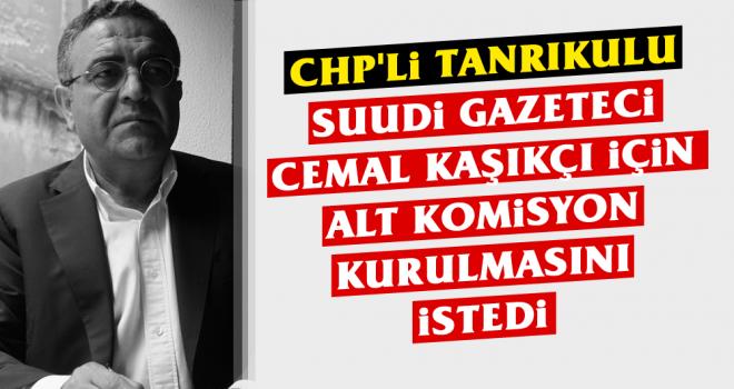 CHP'li Tanrıkulu Suudi Gazeteci Cemal Kaşıkçı...