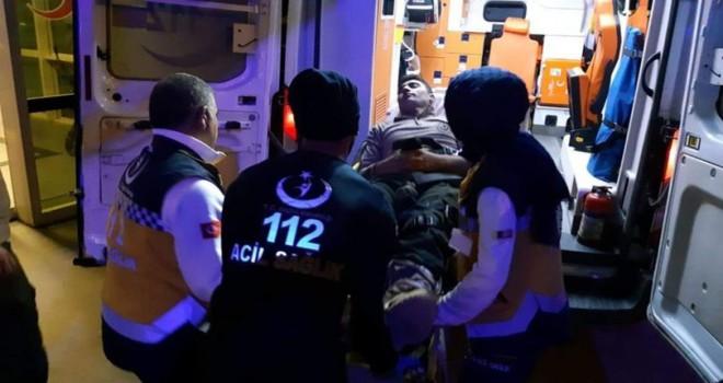 Siirt'te operasyona giden 10 asker yaralandı
