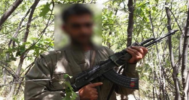 Eylem yapmak için Diyarbakır'a gelen terörist,...