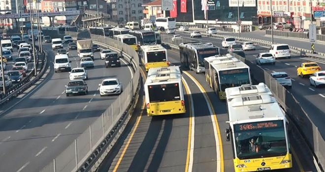 İstanbul'da ulaşım yarın yüzde 50 indirimli
