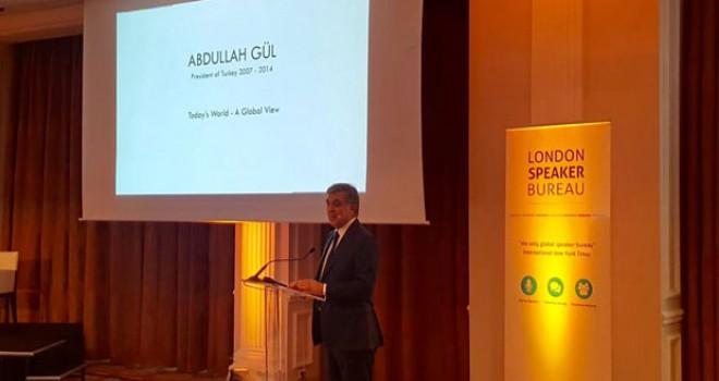 Abdullah Gül, Brüksel'de cumhurbaşkanı ve siyasetçi...