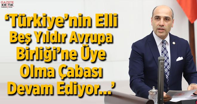 CHP'li Fikret ŞAHİN; Türkiye-Avrupa Birliği Karma...