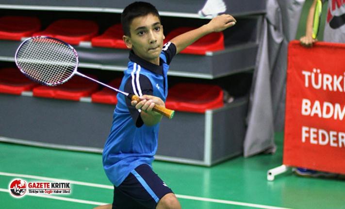15 Yaş Türkiye Badminton Şampiyonası'na rekor...