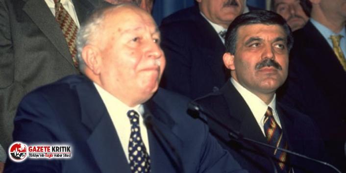 Abdullah Gül'den yıllar sonra FETÖ itirafı!