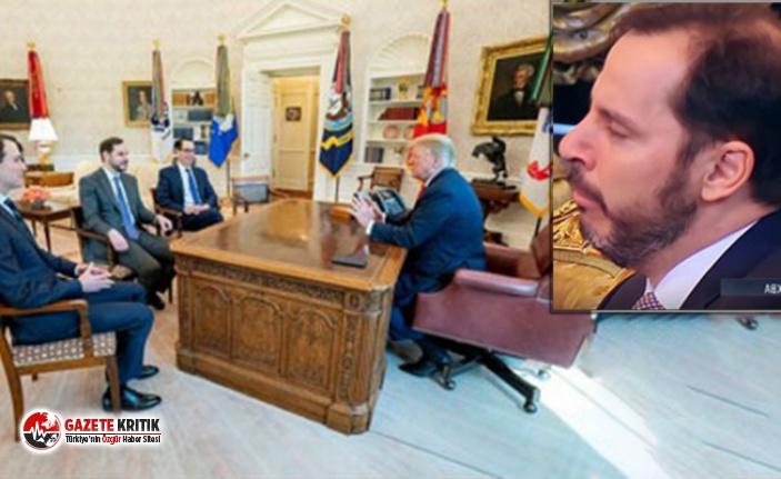 Albayrak, Putin'i dinlerken uyukladı