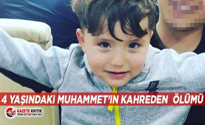 Amcasının yanlışlıkla ezdiği 4 yaşındaki Muhammet...
