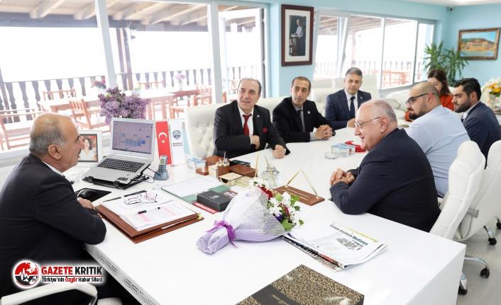 BAŞKAN TÜRKYILMAZ'A İYİ PARTİ'DEN TEBRİK ZİYARETİ