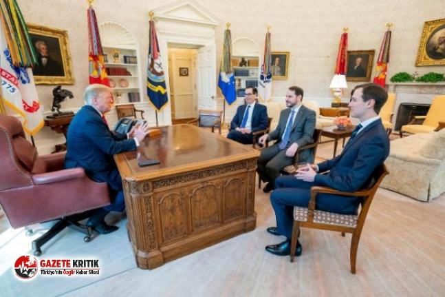Berat Albayrak, Donald Trump ile görüştü
