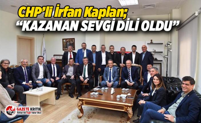 """""""Bu seçimin kazananı SEVGİ DİLİ oldu"""""""
