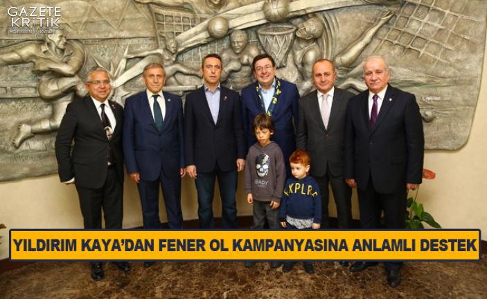 CHP GENEL BAŞKAN YARDIMCISI YILDIRIM KAYA'DAN FENER...