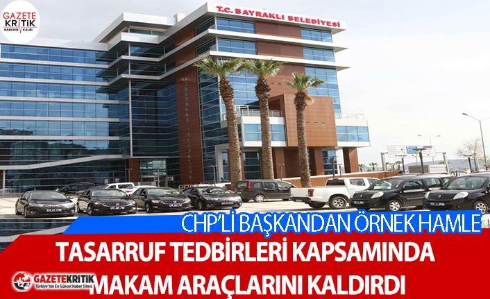 CHP'li Başkan göreve geldi, makam araçlarını...