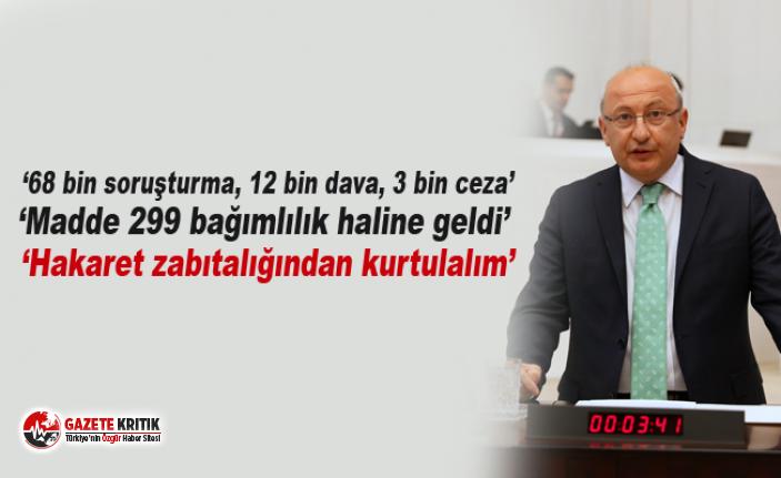CHP'li Çakırözer, Cumhurbaşkanı'na hakaret...