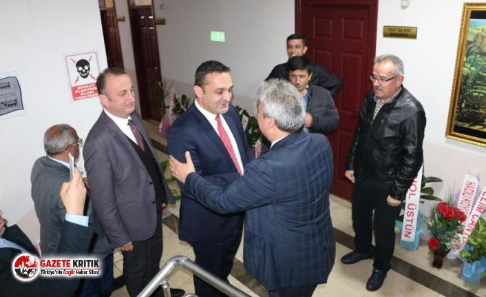 CHP'li Karadeniz'den Başkan Kaya'ya Ziyaret