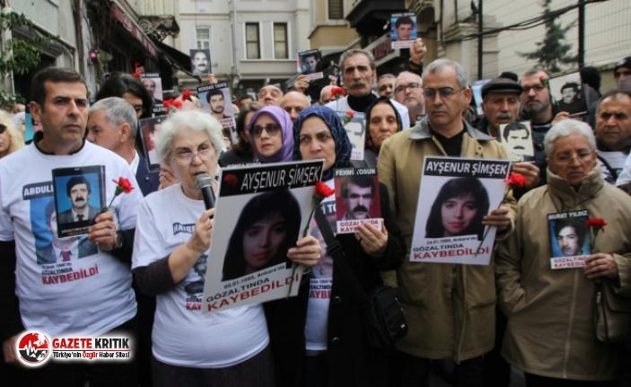 Cumartesi Anneleri 733. kez adalet aradı: Nurettin...